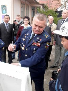 Космонавты посадили в Оше Тянь-Шаньские ели
