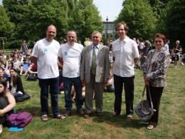 Международная образовательная программа «Космическая одиссея» в Бельгии